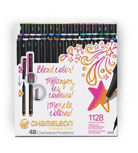 Fineliner 48-pen brilliant colors set - FL4801NAFRONT