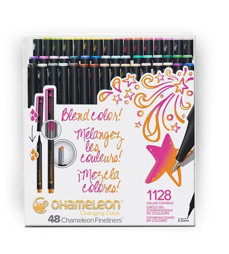 Fineliner 48-pen brilliant colors set - FL4801NAFRONT