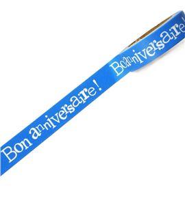 Masking tape azul - bon anniversaire! - 11006602