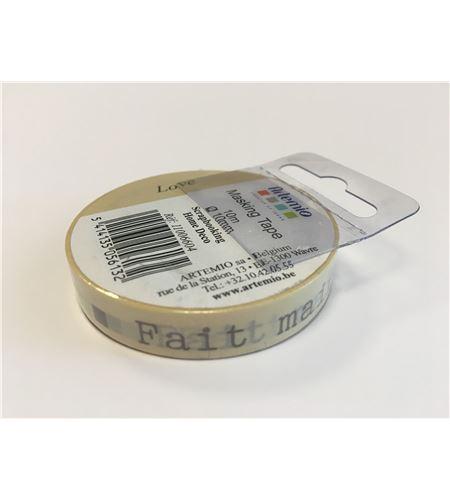 Masking tape beige - fait main - 11006604