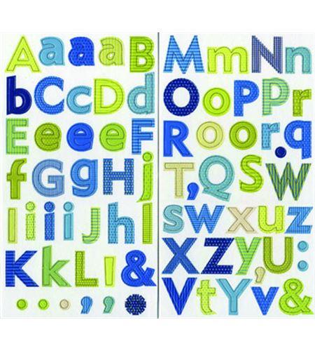 Alfabeto adhesivo - nature - 11006451
