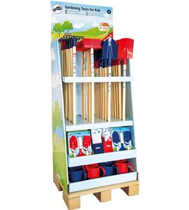 Display de herramientas para el jardín, para niños - 10836