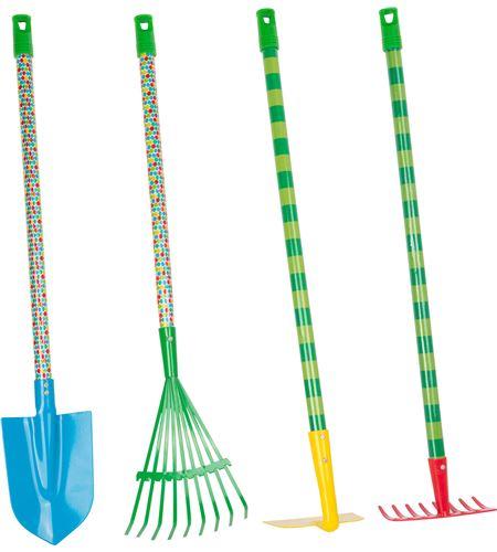 Set herramientas de jardín, la oruga glotona - 11175