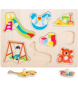 Puzle para encajar juguetes - 10447