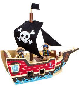 Juego de construcción barco pirata - 9538