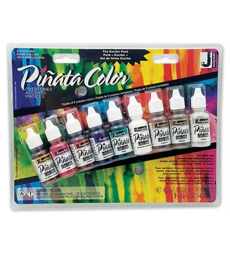Estuche tinta piñata 9 colores 14ml extravagantes - JAC9918-PINATA-OVERTONES-EXCITER-3T-EN-FR-SP_WEB