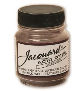 Acid dye 14gr. #burgundy - JAC1610_ACID DYE-BURGUNDY-HALF-OZ_CMYK