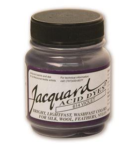 Acid dye 14gr. #violet - JAC1614_ACID DYE-VIOLET-HALF-OZ_CMYK