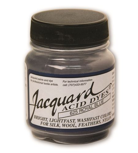 Acid dye 14gr. #royal blue - JAC1625_ACID DYE-ROYAL BLUE-HALF OZ_CMYK