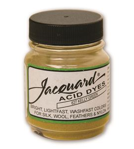 Acid dye 14gr. #kelly green - JAC1627_ACID DYE-KELLY GREEN-HALF OZ_CMYK