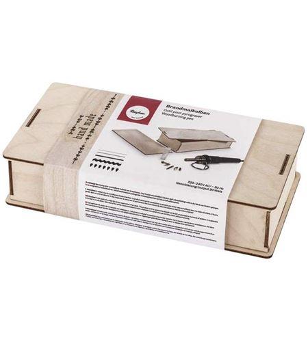Pirograbador en caja de madera - 89366000