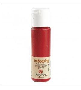 Polvo de embossing - rojo - 28000287