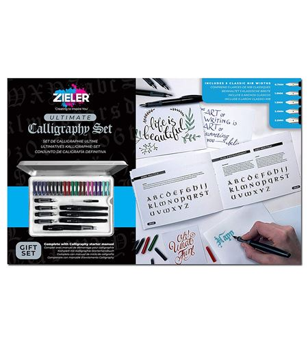 Estuche de caligrafía de 33 piezas - 09299264