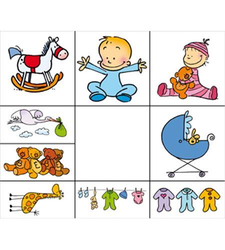 Set sellos infantiles madera birth - 10004001