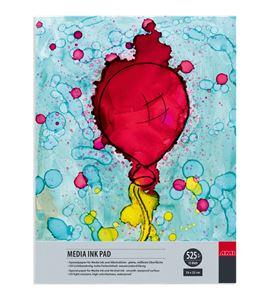 Papel especial tinta alcohol bloc 15 hojas 525 g/m² (24x32 cm) - 182322