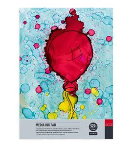 Papel tipo yupo tinta alcohol bloc 15 hojas 525gr 34x48cm - 182323