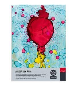 Papel tipo yupo tinta alcohol bloc 15 hojas 525gr 12x24cm - 182321