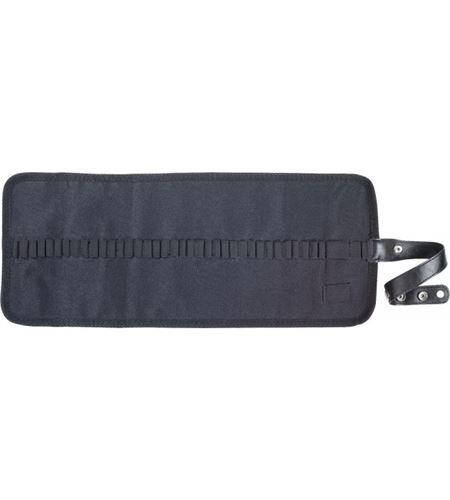 Estuche porta lápices enrollable nilón - negro - 348000