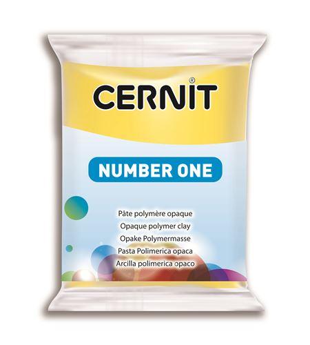 Arcilla polimérica cernit number one 56gr amarillo - CE0900056700