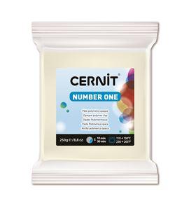 Arcilla polimérica cernit number one 250gr blanco opaco - CE0900250027
