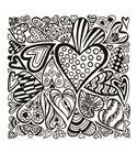 Textura arcilla polimérica cernit 9x9 corazones