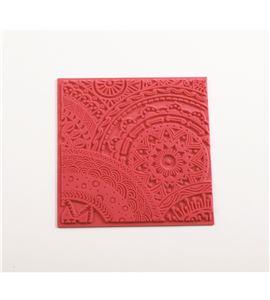 Textura arcilla polimérica cernit 9x9 estrellas - CE95017