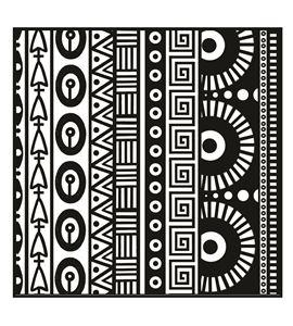 Textura arcilla polimérica cernit 9x9 geometria - CE95019