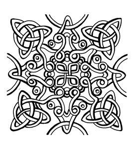 Textura arcilla polimérica cernit 9x9 nudo celta - CE95023