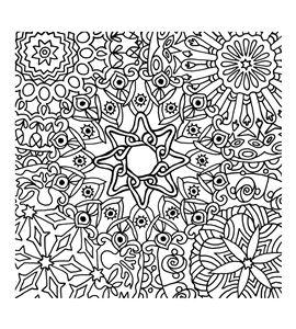 Textura arcilla polimérica cernit 9x9 mandala - CE95025