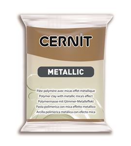 Arcilla polimérica cernit metallic 56gr bronce antiguo - CE0870056059