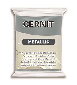 Arcilla polimérica cernit metallic 56gr acero - CE0870056167