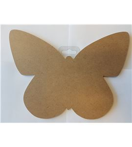"Silueta madera 25cm ""mariposa"" - 14002166"