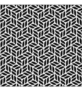 Textura arcilla polimérica cernit 9x9 escalera de bloques - CE95029