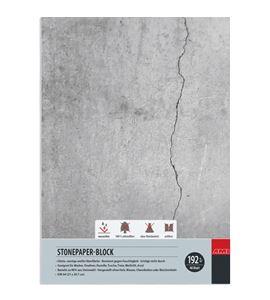 Bloc papel de piedra 40 hojas 192gr a5 148mm x 210mm - 182146