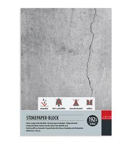 Bloc papel de piedra 40 hojas 192gr a6 105mm x 148mm - 182147