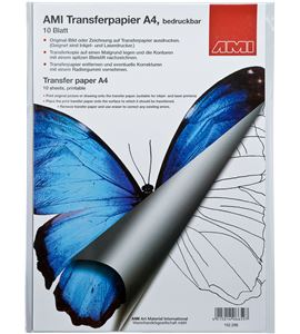 Papel calco imprimible a4 210x297mm negro 10u. - AM-152296