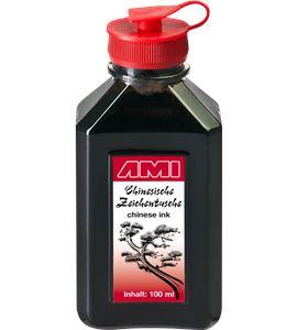 Tinta china premium color negro 100ml - AM-578014