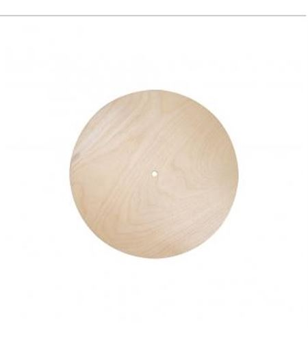 Esfera de reloj redondo madera 25cm - 69239505