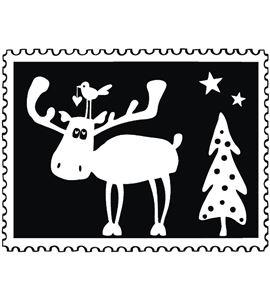 Sello de madera navidad alce - 29216000_PF