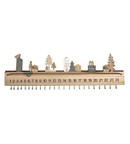 Calendario de adviento de madera - 46556000_PF