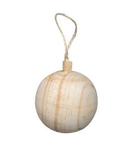 Adorno navideño de madera - 63500505_PF