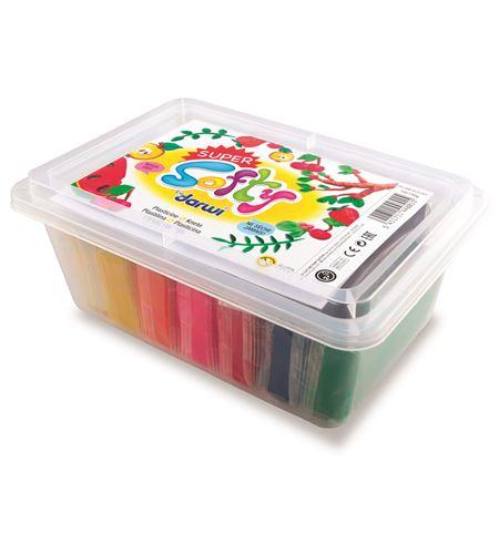 Plastilina vegetal softy estuche 10 colores x 150gr - SO0880010K01