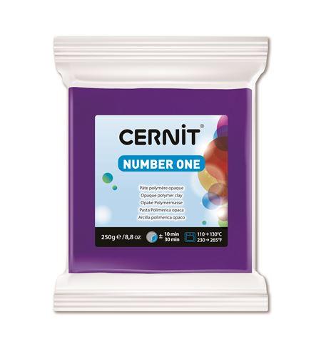 Arcilla polimérica cernit number one 250gr violeta - CE0900250900