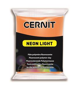Arcilla polimérica cernit neon 56gr naranja - CE0930056752