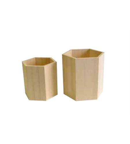 Jarrones hexagonales - 14002038