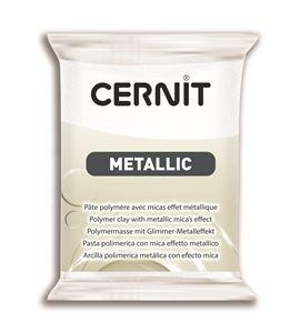 Arcilla polimérica cernit metallic 56gr blanco perlado - CE0870056085_NACRE