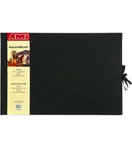 Bloc de acuarela de lujo a3 40 hojas 180gr/m2 tapa lino - AM-185933