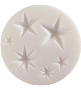 Molde silicona cernit 9x9 estrellas - CE95111_ETOILES_300DPI_CMJN