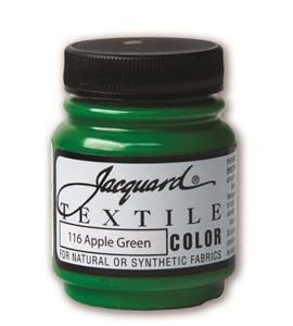 Textile color - verde manzana 70 ml - JAC1116