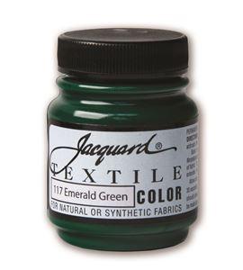 Textile color - verde esmeralda 70 ml - JAC1117